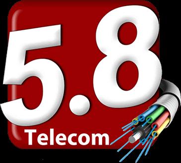 Logo 5.8 Telecom - Consultoria Provedores