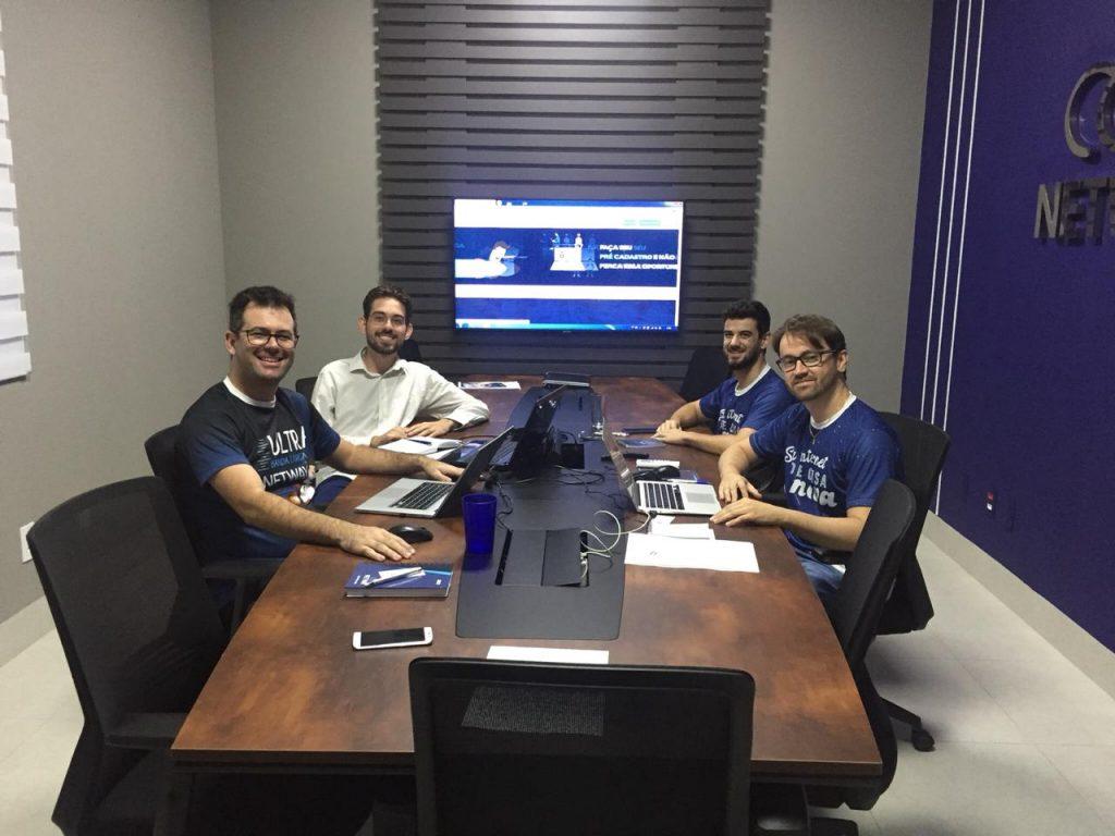 Reunião de Diretoria Netway - Provedor de Internet ISP